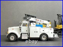 150 First Gear Peterbilt White Service Truck Custom