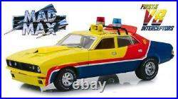 1974 Ford Falcon 1st Of The V8 Interceptors Yellow Police 118 By Greenlight