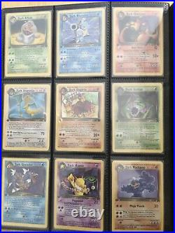 1st Edition Pokemon Card Collection! Shadowless Base Set, Jungle, Fossil, Rocket