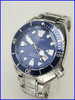 1st Gen ZODIAC Oceanaire 45mm swiss Self-winding/Automatic Divers Watch ZO8004