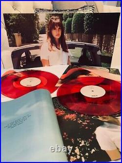 1st Press! LANA DEL REY Honeymoon 2xLP 180 Gram Translucent Red Vinyl RARE
