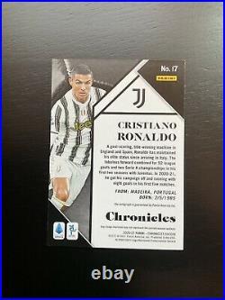 2020-2021 Chronicles Soccer Cristiano Ronaldo Auto 1st Print #23/25