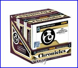 2020-21 FOTL Panini Chronicles Soccer Hobby Box 1st Off The Line NEW & SEALED