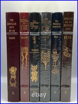 6V FIRST 1ST Easton Press WIZARD of OZ Collectors LIMITED Edition Baum SCARCE