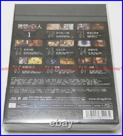 Attack on Titan The Final Season Vol. 1 First Limited Edition Blu-ray CD Japan