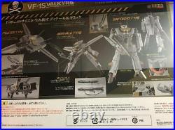 BANDAI DX Chogokin First Limited Edition VF-1S Valkyrie Roy Focker Macross Japan