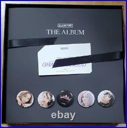 BLACKPINK 1st VINYL LP THE ALBUM LIMITED EDITION BOX SET + PHOTOCARD SEALED