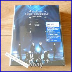 BTS Official 1st Limited edition LOVE YOURSELF JAPAN EDITION Blu-ray Region Free