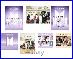 BTS THE BEST Limited 1st Edition A. B. C. Normal. FC. Universal misic. 7net ed