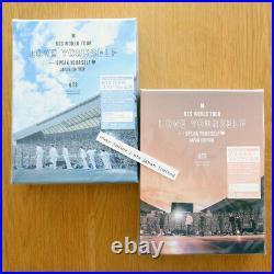 BTS WORLD TOUR'LOVE YOURSELF SPEAK YOURSELF' JAPAN EDITION Blu-ray DVD