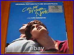 CALL ME BY YOUR NAME OST 2x LP VINYL POSTER EDITION 1st PRESS! WithART PRINTS New