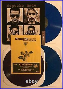 DEPECHE MODE Violator Live 1990 Dodger Stadium 3xLP marbled 2011 1st press