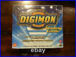 DIGIMON Trading Cards Sealed Booster Box Exclusive Preview 1st EDITION