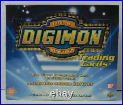 Digimon 1st Edition Exclusive Preview Booster Trading Card Box Bandai New U. S