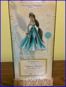Disney Designer Princess Doll Collection JASMINE 1st Limited Edition LE 6000