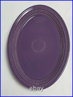 FIESTAWARE LILAC LARGE OVAL PLATTER LIMITED EDITION COLOR- Factory 1st From 1995