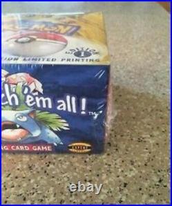 Factory Sealed 1999 WOTC Pokemon 1st Limited Edition Base Set Booster Box