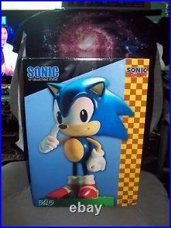 First 4 Figures Sonic the Hedgehog 12 Statue Limited Edition F4F WATCH ITEM