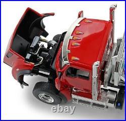 First Gear 1/50 Scale Kenworth T880 w East Genesis End Dump Trailer Viper Red/S