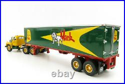 First Gear 60-0444 Mack B-61 Day Cab and 40' Trailer Built Like A Mack 164