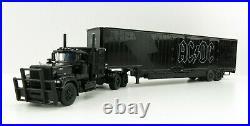 First Gear 69-0842 Mack Superliner Kentucky Trailer AC/DC Black on Black 164