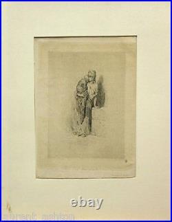 Gustave Dore Original Etching Rare 1st State Graveur