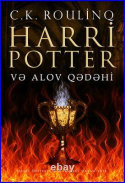 HARRY POTTER 5 Books AZERBAIJANI (AZERI) LANGUAGE Translated 1st ed Collectible