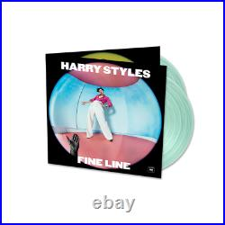 Harry Styles Fine Line LIMITED COKE BOTTLE GREEN 2LP VINYL 1st PRESSING SEALED