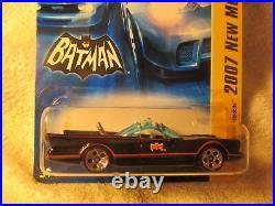 Hot Wheels 2007 FIRST EDITION ELITE SUPER RARE 5-HOLE Batmobile