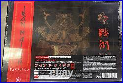 IRON MAIDEN SENJUTSU JAPAN 1st Press 2 CD+BLU-RAY SUPER DELUXE BOX SET+2 STICKER