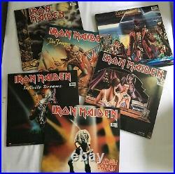 Iron Maiden First Ten Years Vinyl BOX with 6 x Double 12 Singles EMI