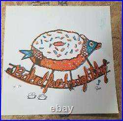 Jim Pollock Baked Fresh Nightly 1st Edition TP # x/13 Signed & Doodled Phish