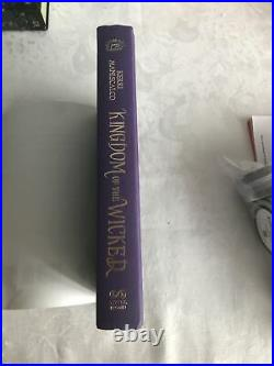 Kingdom of the Wicked Barnes and Noble Exclusive Edition B&N Maniscalco 1st/1st