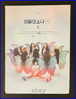 LOONA XX Limited A Version 1st Mini Album Repackage OOP CD LOO Butterfly