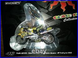 MINICHAMPS 006196 x HONDA NSR500 model bike ROSSI 1st GP Win Donington 2000 112