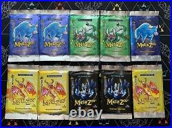 MetaZoo 1st Edition Cryptid Nation Booster Packs Sealed Lot Of 10 Packs
