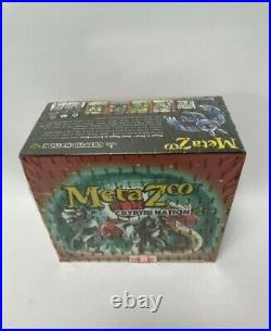 MetaZoo Crytid Nation 1st edition Booster Box Sealed in hand