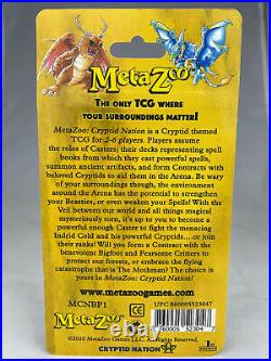 MetaZoo Kickstarter 1st Edition Booster Blister Pack With Mothman Card & Coin