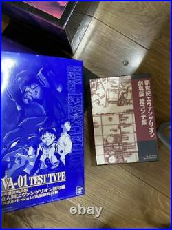Neon Genesis Evangelion Movie BOX First Limited Edition VHS Complete From JP