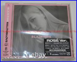 New BLACKPINK KILL THIS LOVE JP Ver. 5 CD Box First Limited Edition Japan