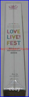 New LoveLive Series 9th Anniversary Love Live Fest Blu-ray Memorial Box Japan
