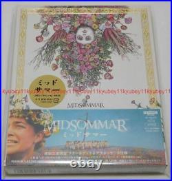New Midsommar Deluxe Edition 4K ULTRA HD+2 Blu-ray+Steelbook Post Card Japan