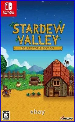 New Nintendo Switch Stardew Valley Collector's Edition Soundtrack CD Book Japan