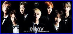 New THE BEST OF BTS Bangtan Boys Korea Edition First Limited Edition CD DVD F/S