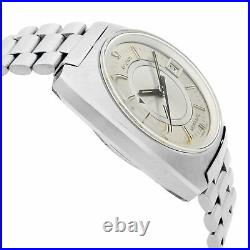 Omega Seamaster Memomatic Alarm Steel Rare Automatic Watch 166.072 First Series