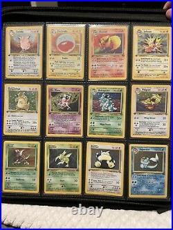 Pokemon Complete 1ST EDITION Jungle & Fossil Sets WOTC Lot 62/62 64/64 Holo Rare