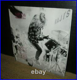 Rare 1990 1st press NIRVANA sliver+dive SUB POP SINGLES CLUB 7Blue Swirl 1OWNER