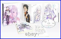 ReZero kara Hajimeru Isekai Seikatsu Vol. 1 Limited Edition Blu-ray Novel Box