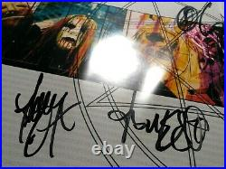 SLIPKNOT Iowa 1st press vinyl FULLY SIGNED by the ORIGINAL LINEUP
