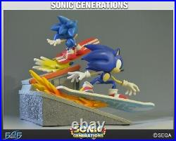 SONIC THE HEDGEHOG GENERATIONS LIMITED EDITION STATUE SEGA First 4 Figures
